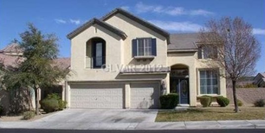 1340 Coulisse Street, Henderson, Nevada 89052-SOLD